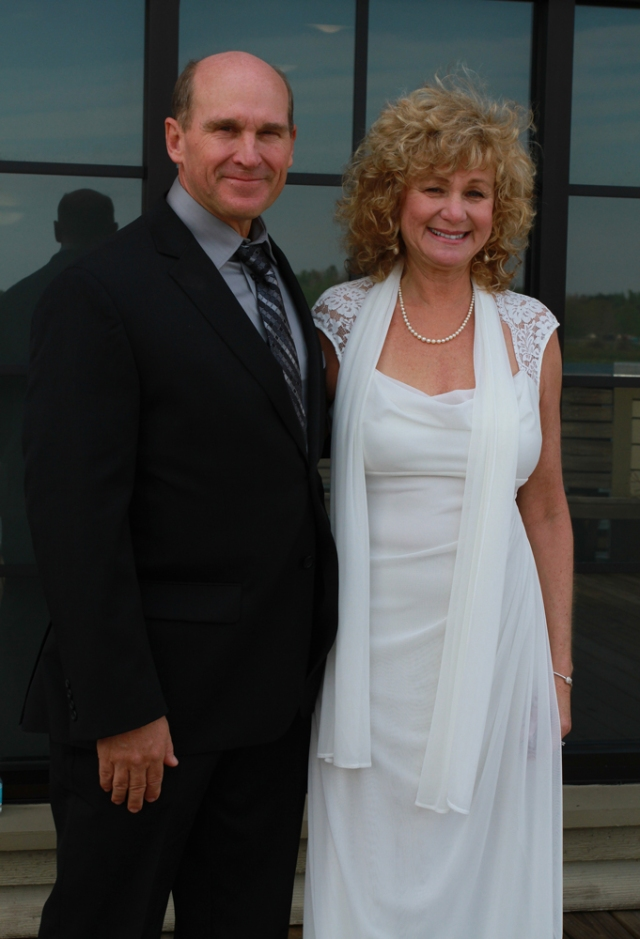 My beautiful new bride Terri!