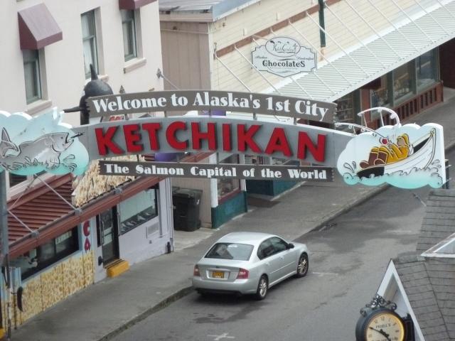 Ketchikan Alaska our first port of call!