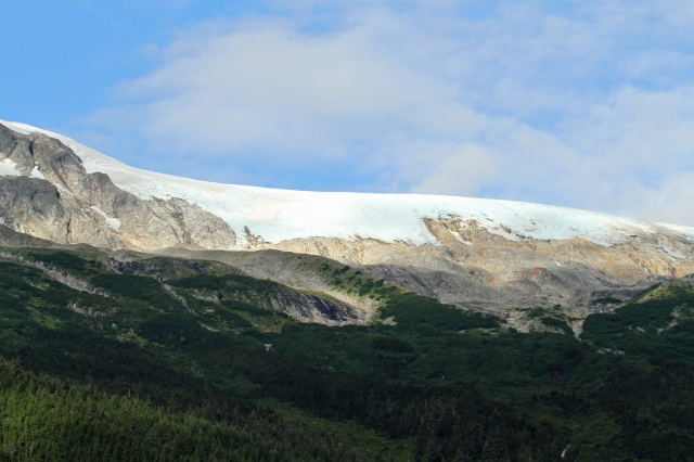 Every where you looked there were Glaciers of one size or another!