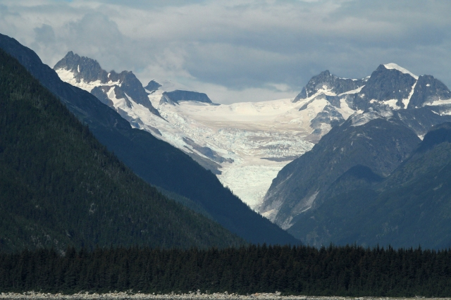 This is the same Glacier from above as we got closer to it!